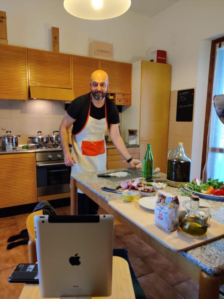 typical Tuscan cooking class