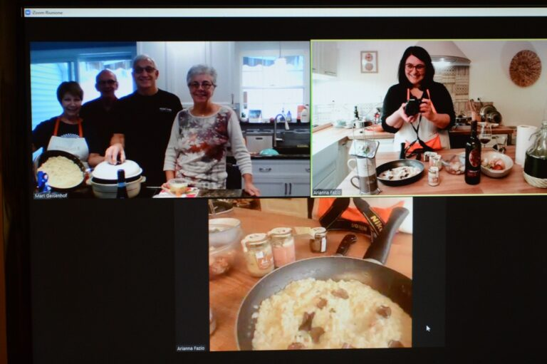 cooking class based on truffle products