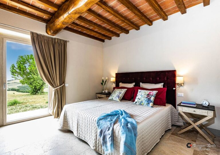 The bedrooms on the ground floor have direct access to the garden area